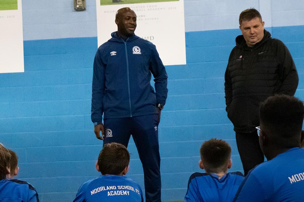 Yaya Toure and coach
