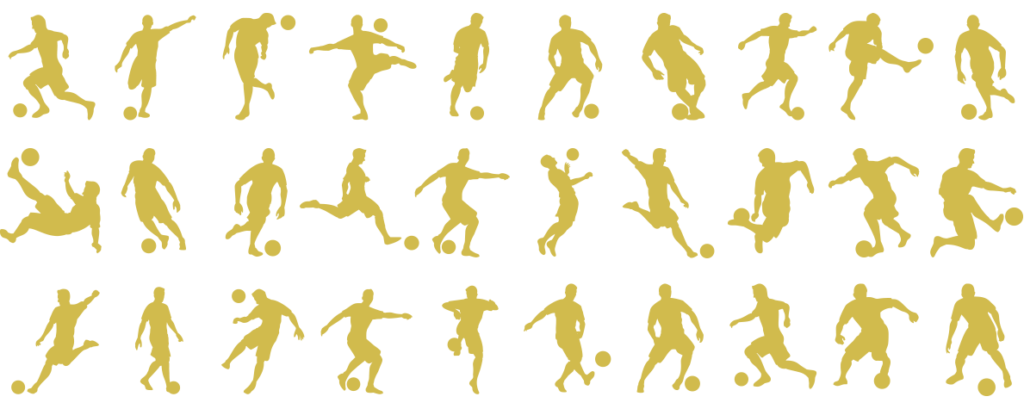 30 Player silhouettes icon