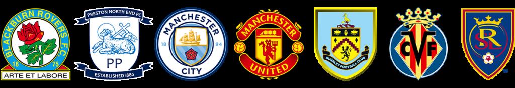 Array of FC logos