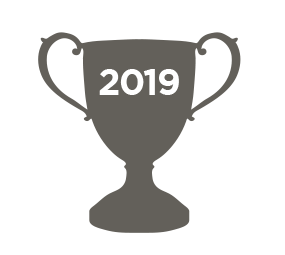 Silver 2019 trophy icon