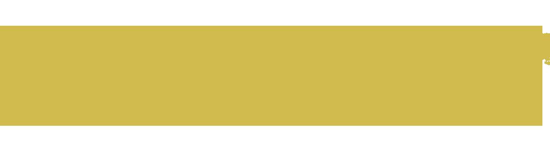 Gold swoosh design