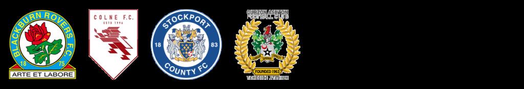 Four Football club logos