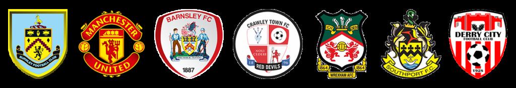 Football clubs logos