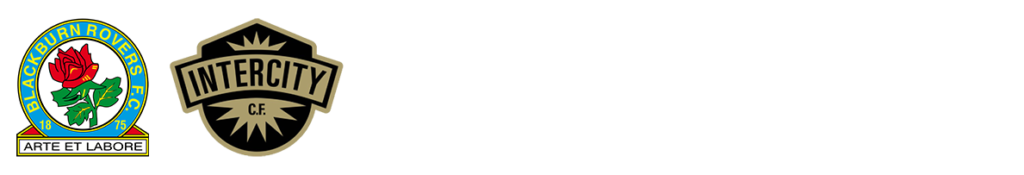 Blackburn and Intercity football club logos